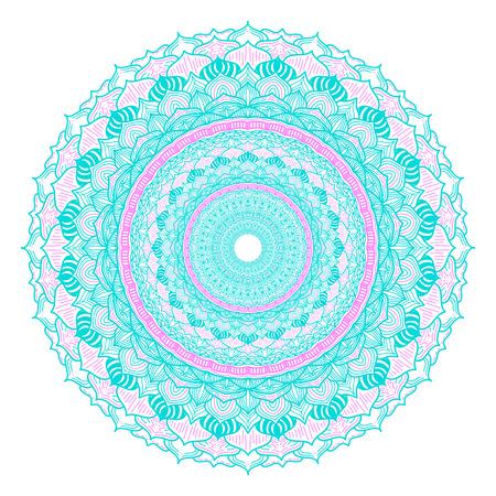 Oriental pattern, vector illustration. Islam, Arabic, Indian turkish pakistan chinese ottoman motifs