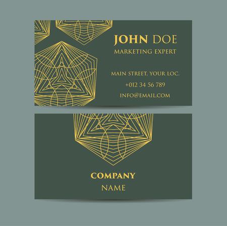web site design template: Vintage decorative elements. Business Cards. Ornamental floral. Oriental pattern, vector illustration. Islam, Arabic Indian turkish motifs