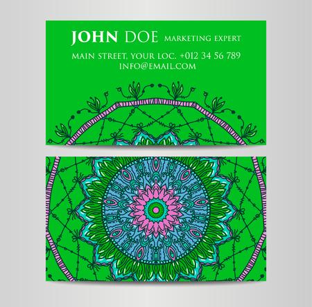 Vintage decorative elements for Business Cards