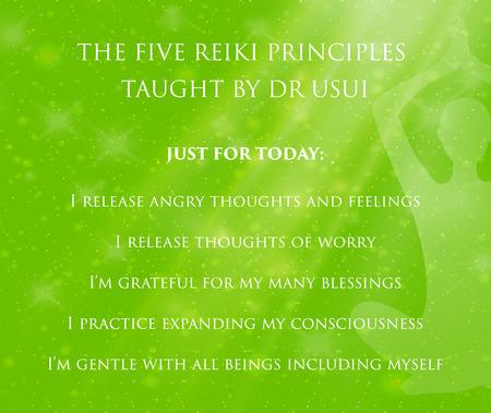 reiki: Rei means Universal - Ki means life force energy.