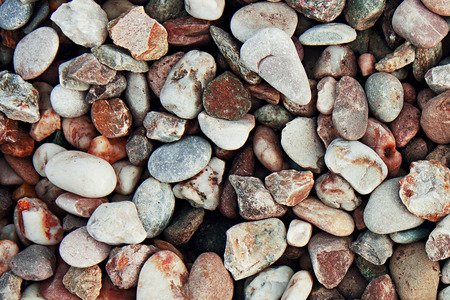 shingle: Background of pebbles. Texture building shingle.