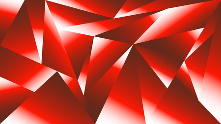 scarlet: Abstract background of geometric shapes. Bright red  scarlet polygons  in white highlights.