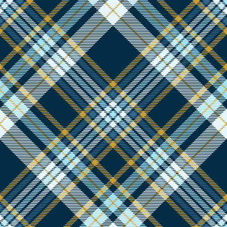 Plaid pattern in teal green, robin egg blue and mustard yellow.