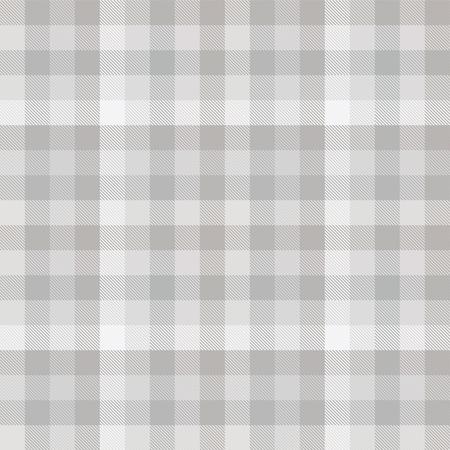 Patrón de cuadros en tonos grises.