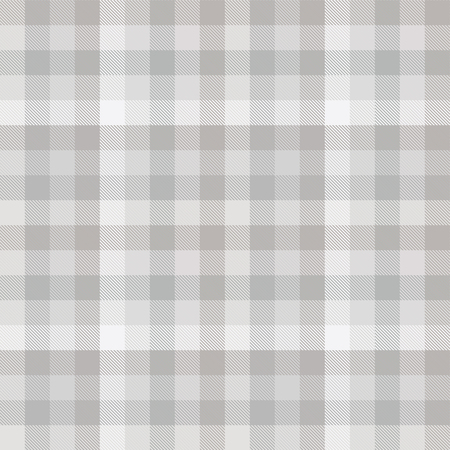 Plaid pattern in shades of grey. Illustration