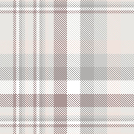 Plaid pattern in grey, pale pink, dusty amaranth and white.