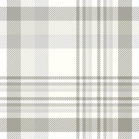 Plaid pattern in shades of grey and ivory.