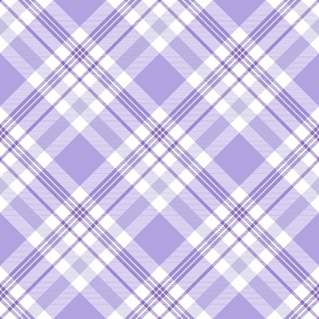 Plaid pattern in shades of violet and white.