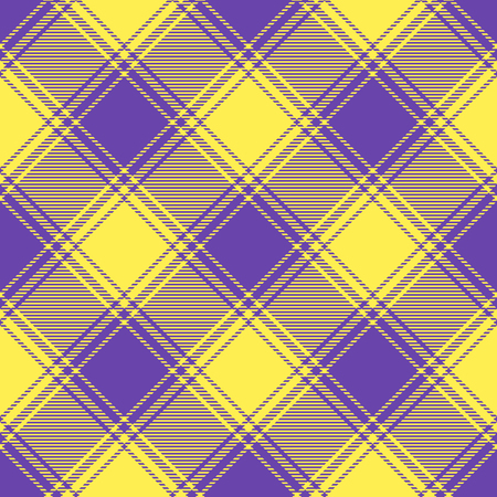 Plaid check pattern. Seamless fabric texture. Stock Vector - 121997105
