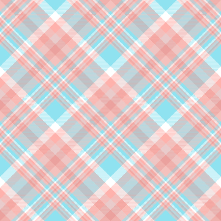 Plaid check pattern. Seamless fabric texture. Иллюстрация