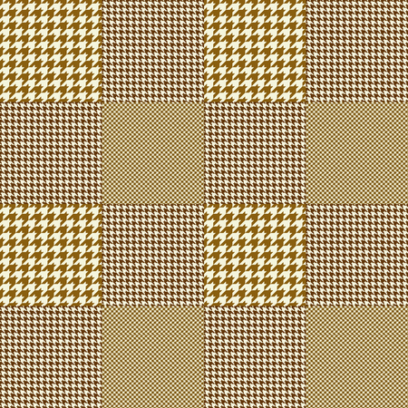 Glen plaid pattern. Seamless fabric texture.