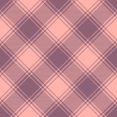Plaid check pattern. Seamless fabric texture print. Stock Vector - 121998549