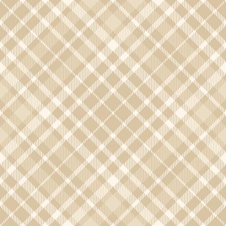 Plaid check pattern. Seamless fabric texture. Vettoriali