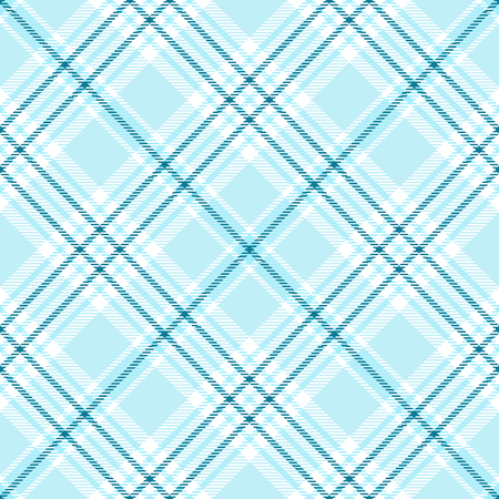 Plaid check pattern. Seamless fabric texture. 向量圖像