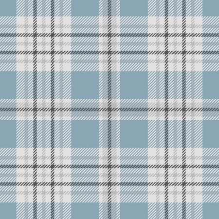 Plaid check pattern. Seamless fabric texture. Vector Illustration