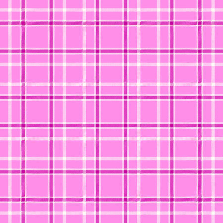 Plaid check pattern. Seamless checkered fabric texture. Stock Vector - 122853704