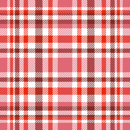 Plaid check pattern. Seamless checkered fabric texture. Banque d'images - 122853706