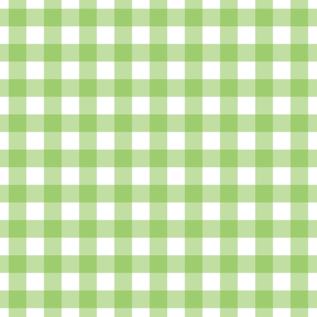 Gingham check pattern. Seamless fabric texture. Stock Vector - 122854221