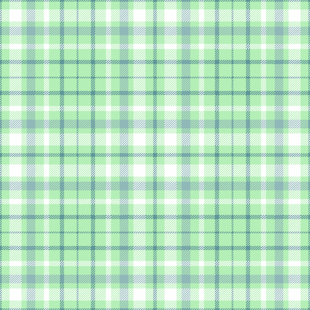 Plaid check pattern. Seamless checkered fabric texture. Stock Vector - 122854037