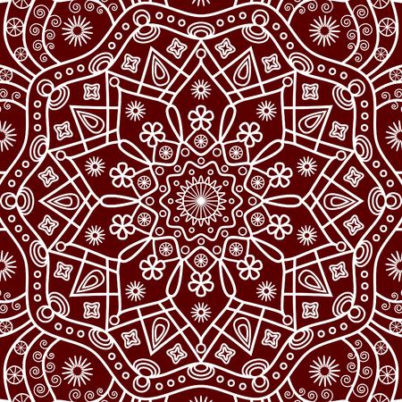 Floral mandala background. Illusztráció