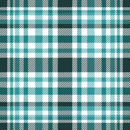 Plaid check pattern. Seamless checkered fabric texture. Archivio Fotografico - 122854348