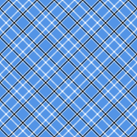 Plaid check pattern. Seamless checkered fabric texture. Stock Vector - 122854435