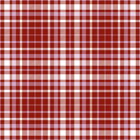 Plaid check pattern. Seamless checkered fabric texture. Stock Vector - 122854762