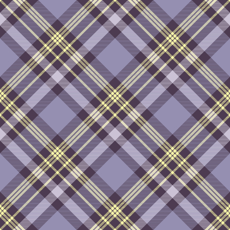 Plaid check pattern. Seamless checkered fabric texture. Stock Vector - 122854987