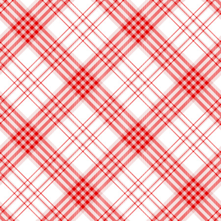Plaid check pattern. Seamless checkered fabric texture. Stock Vector - 122854991