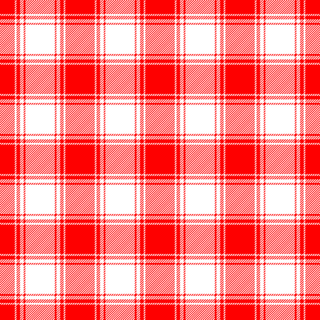 Plaid check pattern. Seamless checkered fabric texture. Stock Vector - 122854842