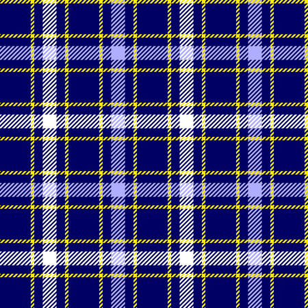 Plaid check pattern. Seamless checkered fabric texture. Stock Vector - 122854854