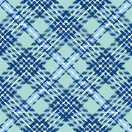 Plaid check pattern. Seamless checkered fabric texture. Stock Vector - 122854858