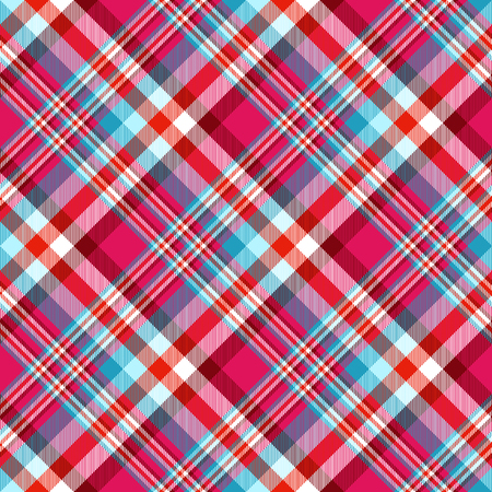 Plaid check pattern. Seamless checkered fabric texture. Reklamní fotografie - 122855147
