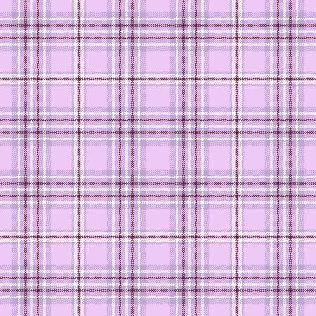 Plaid check pattern. Seamless checkered fabric texture. Banco de Imagens - 122855148