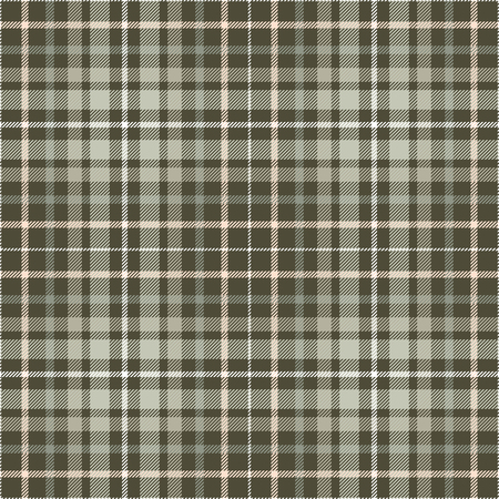 Plaid check pattern. Seamless checkered fabric texture. Banco de Imagens - 122855156