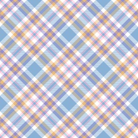 Plaid check pattern. Seamless checkered fabric texture. Reklamní fotografie - 122855157