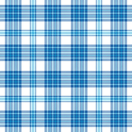 Plaid check pattern. Seamless checkered fabric texture. Reklamní fotografie - 122855158
