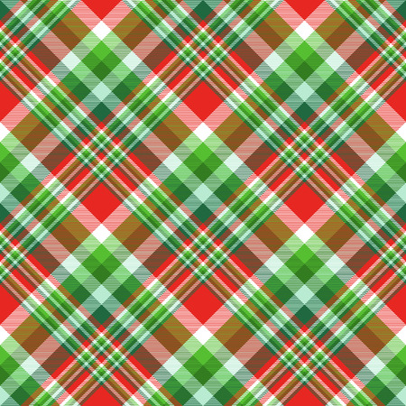 Plaid check pattern. Seamless checkered fabric texture. Reklamní fotografie - 122855162