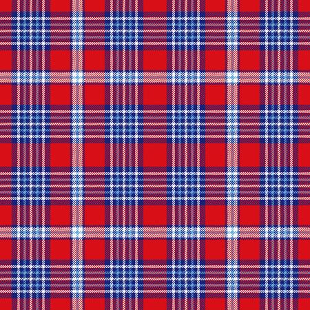 Motivo a quadri scozzese. Trama del tessuto a scacchi senza soluzione di continuità.
