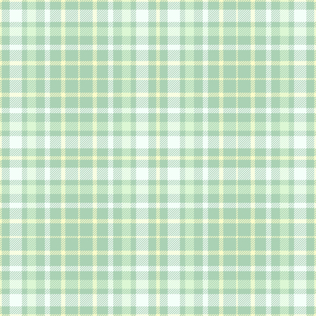 Plaid check pattern. Seamless checkered fabric texture. Stock Vector - 122855001
