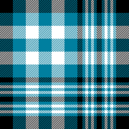 Plaid check pattern. Seamless checkered fabric texture. Stock Vector - 122854930