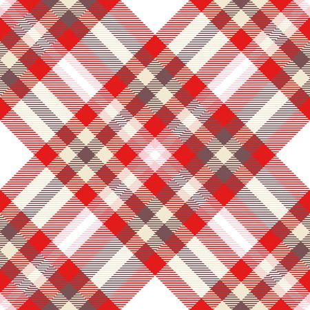 Plaid check pattern. Seamless checkered fabric texture. Reklamní fotografie - 122855065
