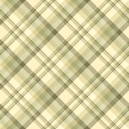 Plaid check pattern. Seamless checkered fabric texture print. Banco de Imagens - 122855076