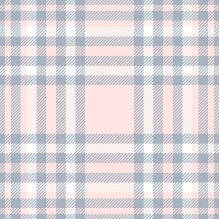 Plaid check pattern. Seamless checkered fabric texture print. Reklamní fotografie - 122855078