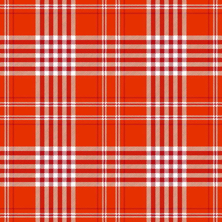 Plaid check pattern. Seamless checkered fabric texture print. Reklamní fotografie - 122855079