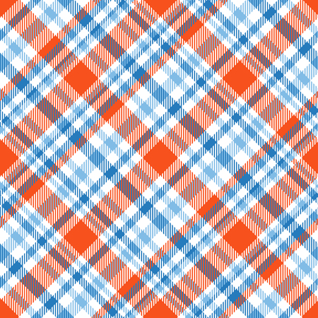 Plaid check pattern. Seamless checkered fabric texture print. Reklamní fotografie - 122855081