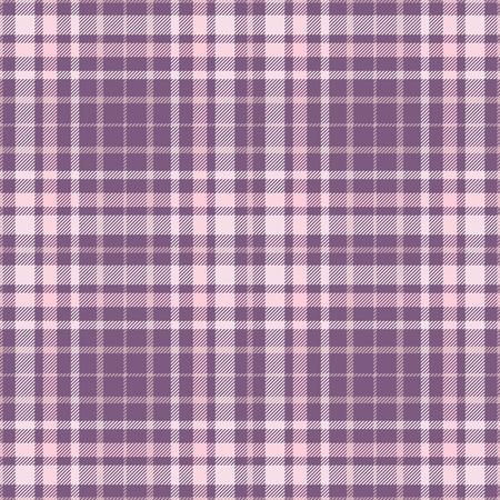 Plaid check pattern. Seamless checkered fabric texture print. Reklamní fotografie - 122855083