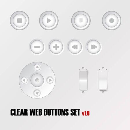 Light buttons.