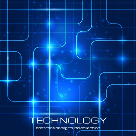 Bright technology background