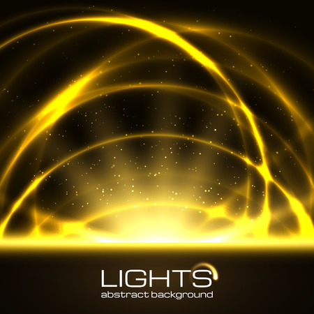 Background with bright flares and space for text.